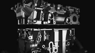 Moteur 3 cylindres EB Turbo PureTech : vidéo 3D