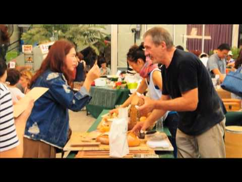 Amantee Artisan Breads at the Bangkok Farmers' Market