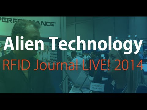 Alien Showcases RFID Readers & Tags | RFID Journal LIVE! 2014