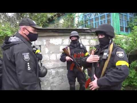 Поліція Луганщини: 20.05.2020_На Луганщині правоохоронці провели відпрацювання населених пунктів Попаснянського району