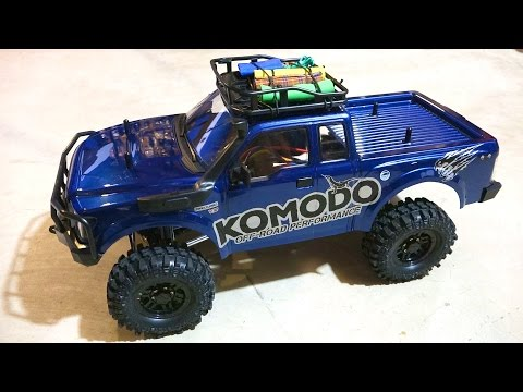RC ADVENTURES - G Made GS01 Komodo 4x4 1/10 Electric Trail Truck Overview