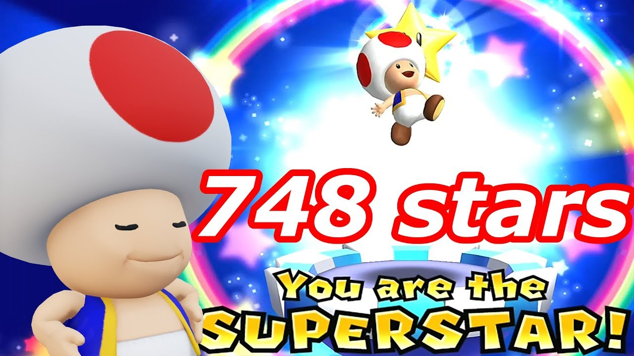 Mario Party 9 Solo Mode Toad 748 Ministars New Record Bowser