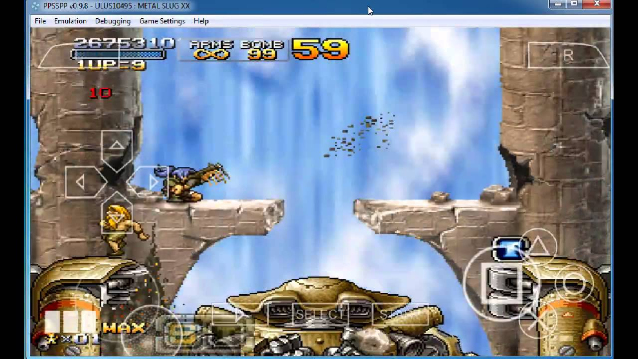 code gameshark metal slug x ps1