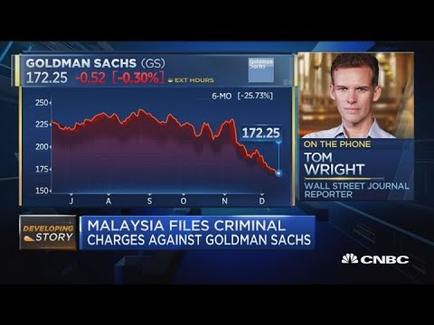 Tom Wright talks Goldman Sachs