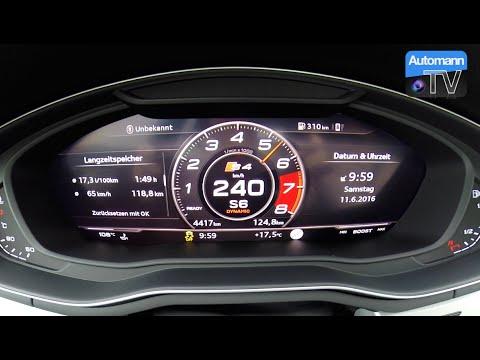 2017 Audi S4 Avant (354hp) - 0-250 Km/h Acceleration (60FPS)