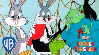 Looney Tuesdays | Trick or Treats, But Just Tricks | Looney Tunes | WB Kids