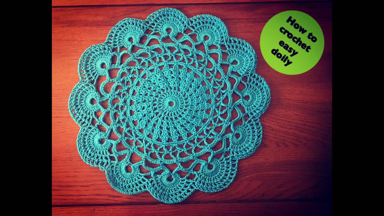 How to crochet easy doily youtube bankloansurffo Gallery