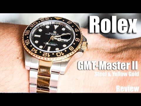 Rolex GMT-Master II Steel and Yellow Gold Review