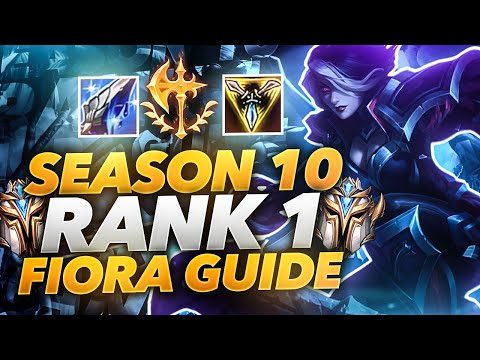 Rank #1 Fiora NA's Fiora Guide Season 10 | ForgottenProject