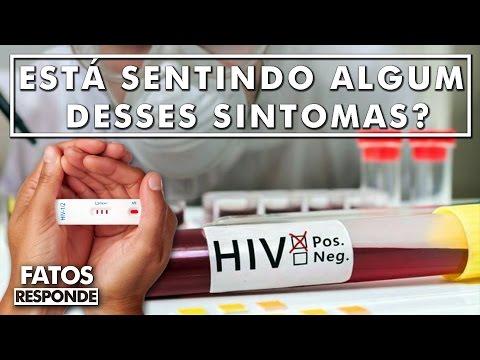 Quais são os primeiros sintomas da AIDS que jamais devemos ignorar?