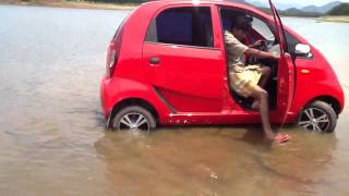 TATA NANO IN WATER