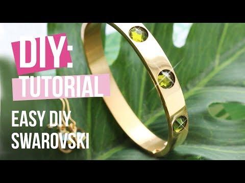 Schmuck machen: Swarovski ♡ DIY