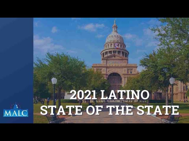 2021 Latino State of the State/Mensaje de la Direccion del estado 2021