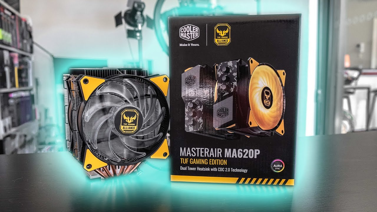 HOWTO Install Cooler Master MasterAir MA620P TUF Gaming Edition (Socket  1151)