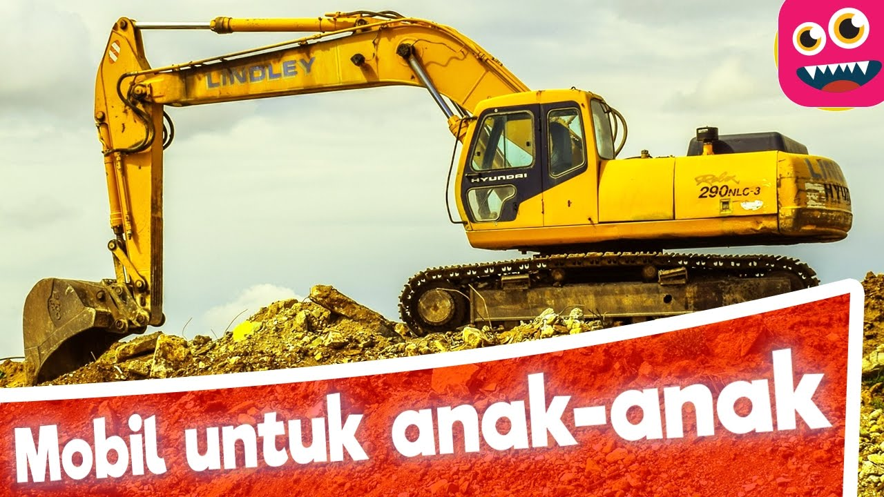 Anak Anak Belajar Tentang Kendaraan Mobil Truk Excavator Indonesia