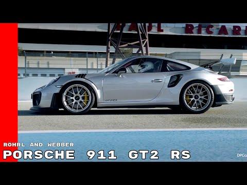 Porsche 911 GT2 RS Speechless Walter Röhrl and Mark Webber