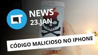 Mensagem que trava iPhones; Hugo Barra deixa Xiaomi; Causa de explosões no Note7 e + [CTNews]