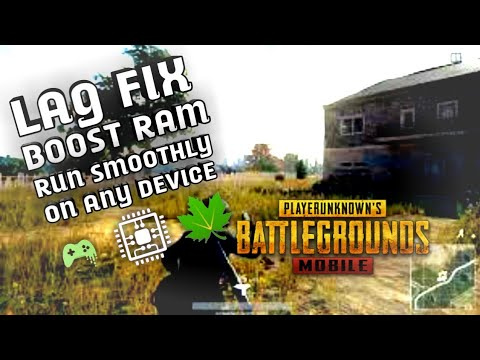PUBG Mobile LAG Fix (no root)(ram boost)(android)