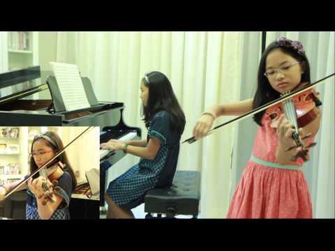 Endless Rain - X Japan -  2 Violins & Piano - Note (13) & Pin (10) (โน้ต & พิณ)