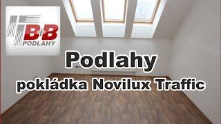 Jak se pokládá PVC a svařuje za studena BB podlahy Hradec Králové