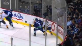 Kevin Bieksa injury 11 02 14