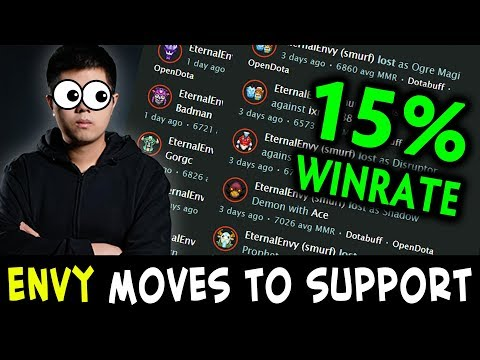 15% WINRATE — EternalEnvy switches to support in new team