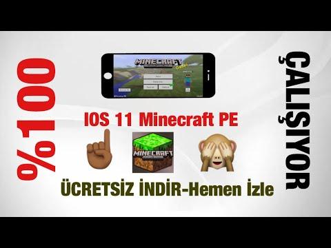 IOS 11 Ücretsiz Minecraft PE Nasıl Yüklenir ?