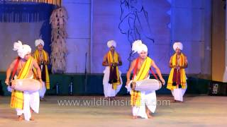 Kartal Cholom - Manipuri style of dance and music