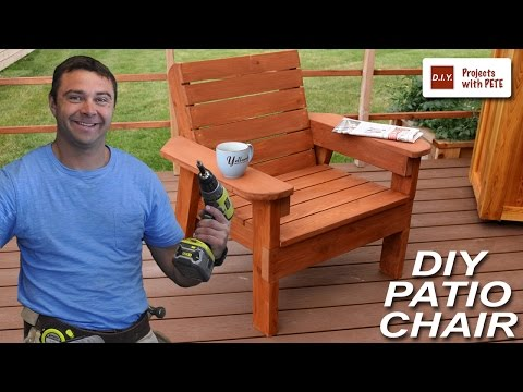 How to Build a Patio Chair - DIY Outdoor Chair Build