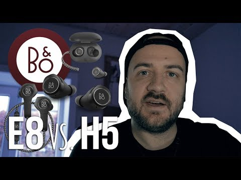 B&O BEOPLAY E8 VS  H5 | Honest Review