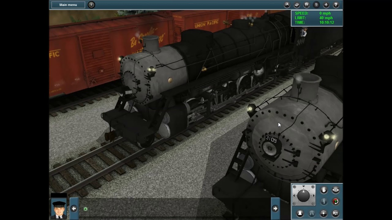 Trainz Reviews: The Erecting Hall - Heavy 2-10-2's