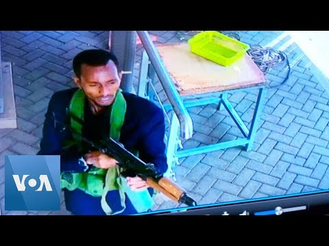 Kenya Attack: Security Footage Shows Al-Shabab Gunmen Entering Nairobi Hotel