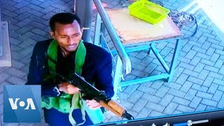 Kenya Attack: Security Footage Shows Al-Shabab Gunmen Entering Nairobi Hotel