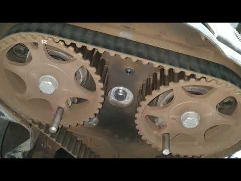 Замена ремня ГРМ и помпы Citroen С4. Двигатель TU5JP4