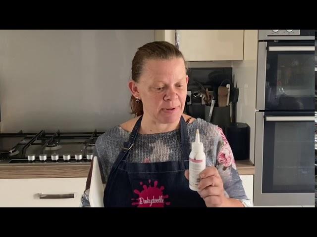 dinkydoodle metallic confectioners drip
