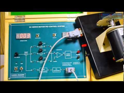 Speed Control Of Dc Servo Motor Using Pid Controller Youtube