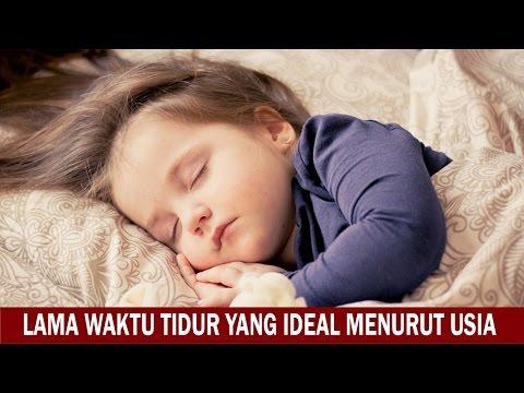 Lama Waktu Tidur yang Ideal Menurut Usia