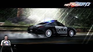 """Target detected"" - Need For Speed: Hot Pursuit на руле Fanatec CSL Elite"