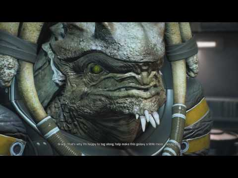Mass Effect Andromeda [Part 18]: Chatting With Drack And Peebee!