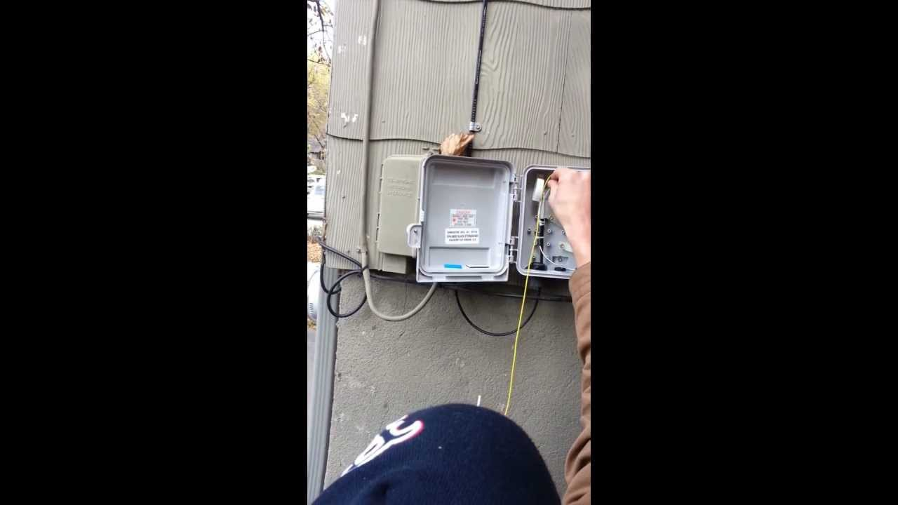google fiber installation part 1 youtube rh youtube com wiring your house with fiber optic wiring your house with fiber optic