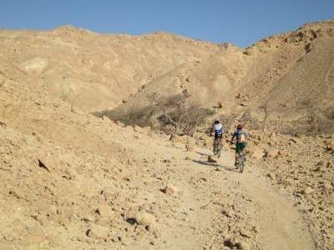 שביל ישראל לאופניים הסדרת מעלה קטורה