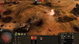 Company of Heroes 1 - Purlicious(USA) vs Woggle(Wehrmacht)