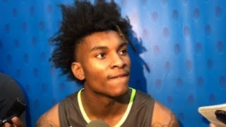 Kevin Porter Jr.: 'A lot of people say I'm one of most talented in the draft'