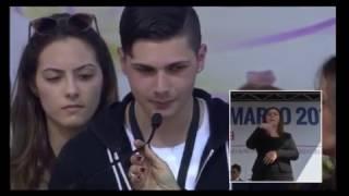 Locri 21 Marzo: la lettura delle vittime di mafia e l'intervento di don Ciotti