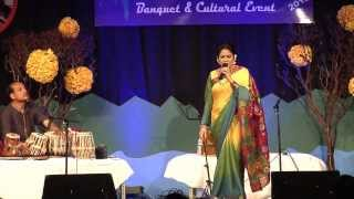 ferdous ara leading nazrul singer of bangladesh at csun 2013
