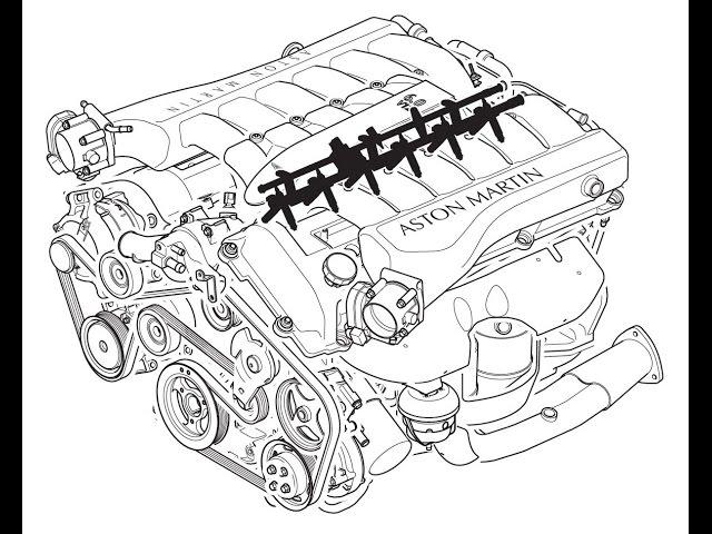 Depressurizing The Fuel System On An Aston Martin Db9