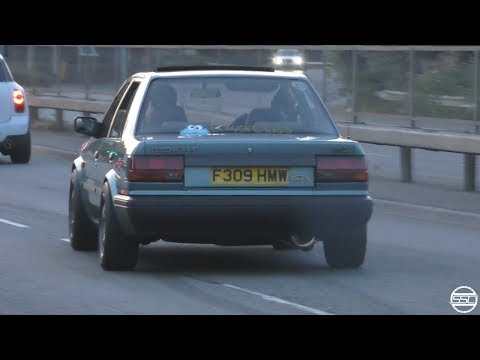 Nissan Bluebird SR20DET- Turbo Sounds!