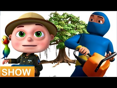 Zool Babies Saving Forest From Thieves - Videogyan Kids Shows - Zool Babies Series