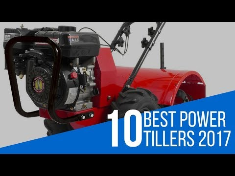 10 Best Power Tiller Reviews 2017
