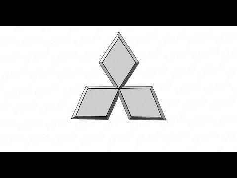 логотип mitsubishi для фотошопа